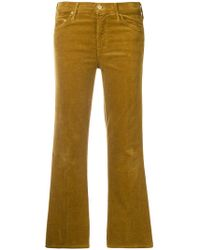 Mother - Cropped Trousers - Lyst