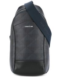 Cerruti 1881 - Perforated Single Strap Backpack - Lyst