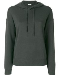 Closed - Fitted Hooded Sweatshirt - Lyst