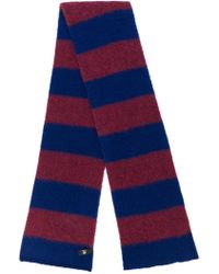 PS by Paul Smith - Striped Knitted Scarf - Lyst