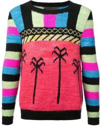 The Elder Statesman - South American Palms Jumper - Lyst