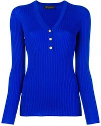 Versace - Fitted Sweater - Lyst