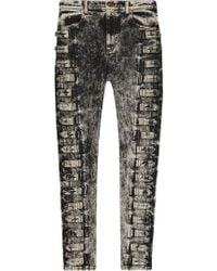 Gucci - Denim Skinny Pant - Lyst