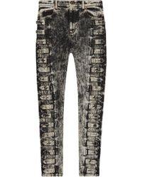 Gucci - Klassische Skinny-Jeans - Lyst