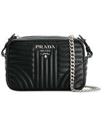 Prada - Bevelled Camera Bag - Lyst
