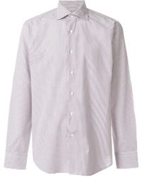 Canali - Printed Shirt - Lyst
