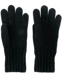 Fendi - Logo Knitted Gloves - Lyst
