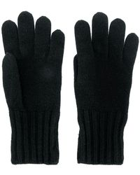 Fendi - Logo Knitted Gloves - Lyst