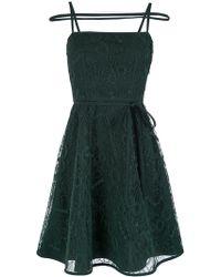 Gloria Coelho - Stripes Short Dress - Lyst