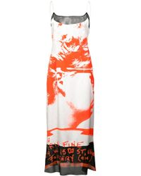 Maison Margiela - Spray Painted Dress - Lyst