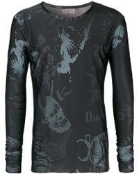 Yohji Yamamoto - Printed T-shirt - Lyst