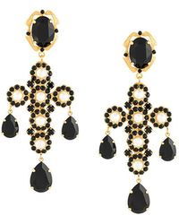 Dolce & Gabbana | Cross Clip-on Earrings | Lyst