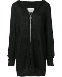 Laneus - Mid-length Zip Jacket - Lyst
