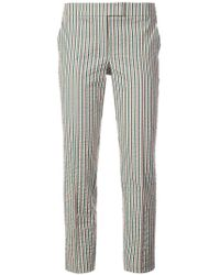 Akris Punto - Striped Fitted Trousers - Lyst