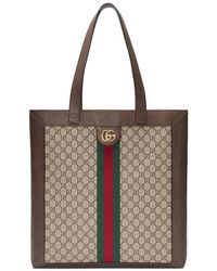 Gucci - Ophidia GG Supreme Large Tote - Lyst