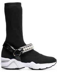 Suecomma Bonnie - Jewelled Sock Trainers - Lyst