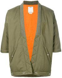 Visvim - Sanjuro Kimono Down Jacket - Lyst