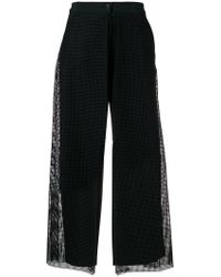 Chalayan - Mesh Cropped Trousers - Lyst
