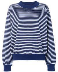 Sofie D'Hoore - Striped Loose Fit Sweatshirt - Lyst