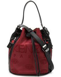 KENZO - Embossed Eye Bucket Bag - Lyst