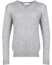 Cruciani - V-neck Sweater - Lyst