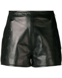 RED Valentino - Scallop Detail Shorts - Lyst