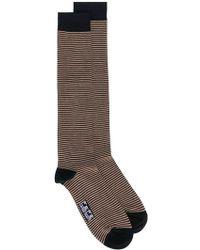 Fefe - Striped Socks - Lyst