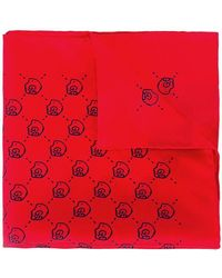 Lyst - Gucci Ghost Modal Shawl in Red for Men 5bd452d9ad2