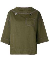 Marni - Flared Sleeves Sweatshirt - Lyst