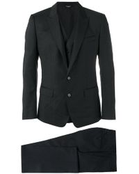Dolce & Gabbana - Karierter Anzug - Lyst