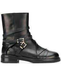 Cesare Paciotti - Side Buckle Boots - Lyst