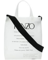 KENZO - Sac cabas Invitation - Lyst