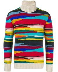 Missoni - Intarsia Stripe Sweater - Lyst