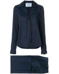 Prada - Completo modello pigiama - Lyst