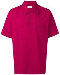 Lemaire - Short-sleeve Polo Shirt - Lyst