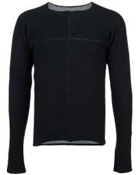 Ma+ - Seam Detail Sweater - Lyst