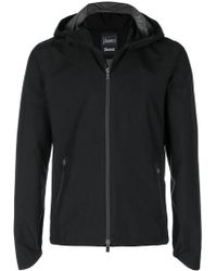 Herno - Zipped Hooded Jacket - Lyst