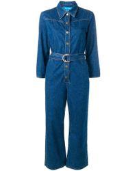 M.i.h Jeans - Harper Denim Jumpsuit - Lyst