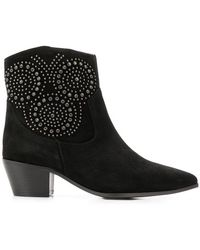 The Seller - Studded Ankle Boots - Lyst