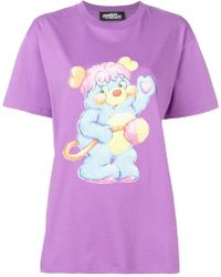 Jeremy Scott - Loose-fit Printed T-shirt - Lyst