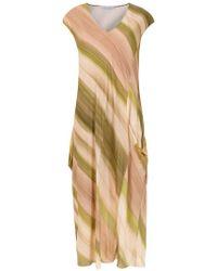 Mara Mac - Striped Midi Dress - Lyst