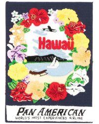 Olympia Le-Tan - 'Hawaii' Buch-Clutch - Lyst