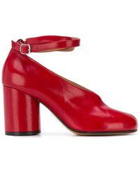 Maison Margiela - Tabi Mary Jane Court Shoes - Lyst