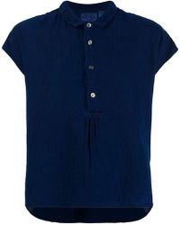 Blue Blue Japan - Short-sleeve Fitted Top - Lyst