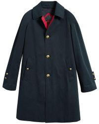 Burberry - Reissued Waxed Gabardine Car Coat - Lyst
