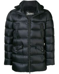 Herno - Padded Hooded Coat - Lyst