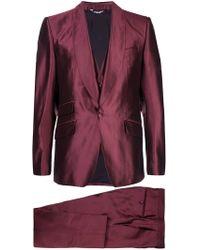 Dolce & Gabbana - Sicilia Three Piece Suit - Lyst