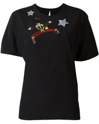 Dolce & Gabbana - Embroidered Toy Soldier T-shirt - Lyst