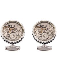 Tateossian - 17 Jewel Skeleton Movement Cufflinks - Lyst