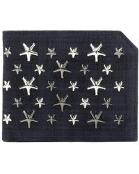 Jimmy Choo - Murray Star Embellished Wallet - Lyst